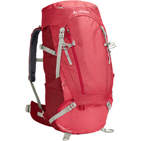 VAUDE Asymmetric 48+8 reppu Naiset, indian red